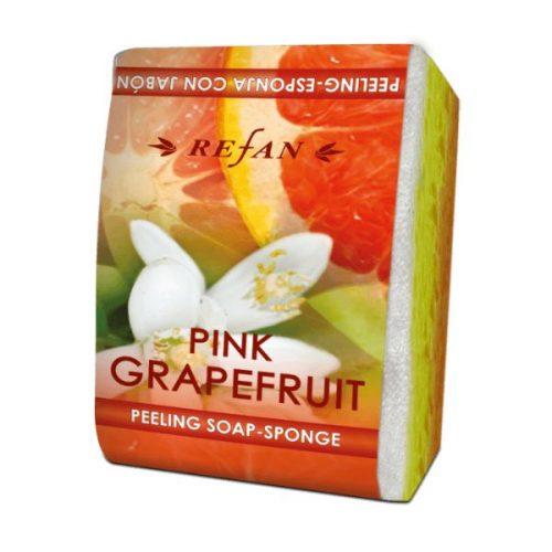 Пилинг сапун-сунѓер Pink Grapefruit