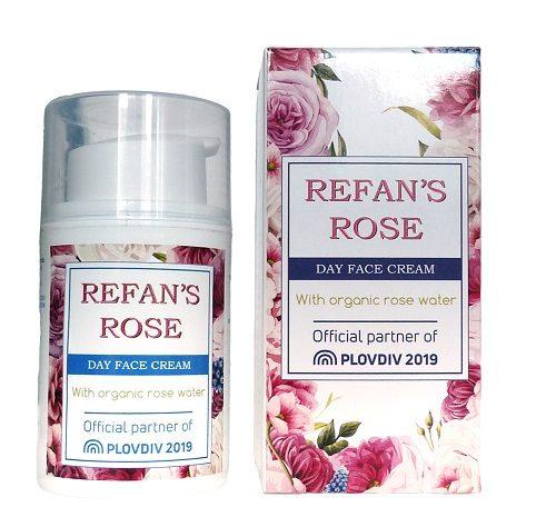 "Гел за миење лице ""Refan's Rose"""