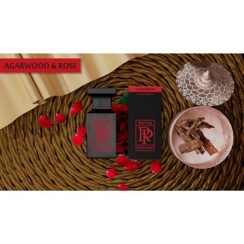 Парфем Refan Limited Blend 55 ml - AGARWOOD & ROSE инспириран од Rose d'Arabie-G.Armani