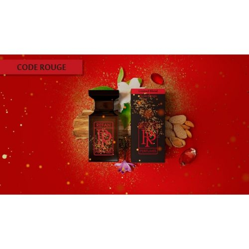 Парфем Refan Limited Blend 55 ml - CODE ROUGE инспириран од Baccarat Rouge-Maison Kirkdjan