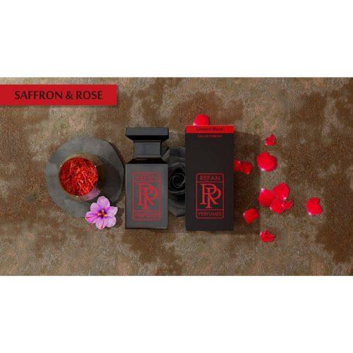 Парфем Refan Limited Blend 55 ml - SAFFRON & ROSE инспириран од Noir de Noir-T.Ford