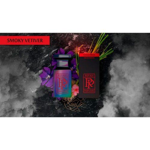 Парфем Refan Limited Blend 55 ml - SMOKY VETIVER инспириран од Portroyal Men-Amouage