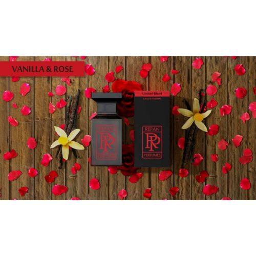 Парфем Refan Limited Blend 55 ml - VANILLA & ROSE инспириран од Roses Berberanza-Lancome