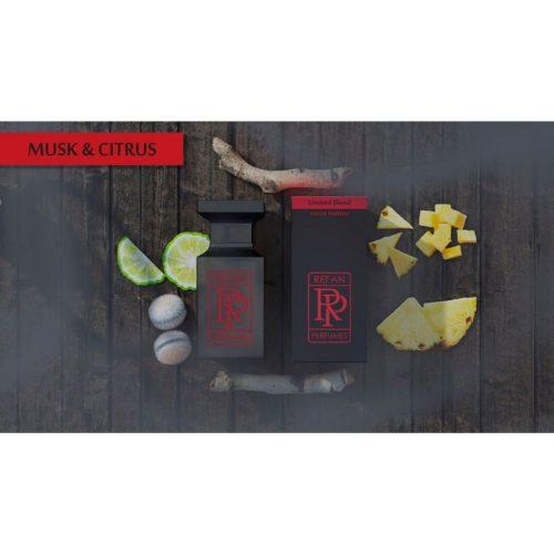 Парфем Refan Limited Blend 55 ml - MUSK & CITRUS инспириран од Aventus-Creed